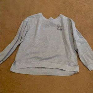 Super soft grey HomeBody sweatshirt